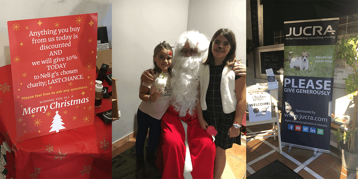 JUCRA Sponsors Santa's Grotto for local charity, Last Chance Animal Rescue