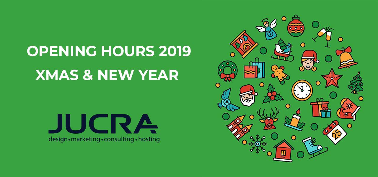 Xmas 2019 Opening Hours