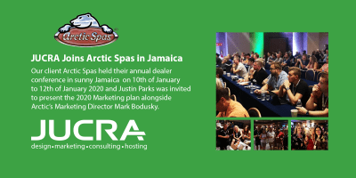 JUCRA Digital Goes to Jamaica with Arctic Spas!