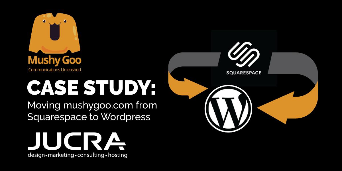 Case Study: Squarespace to WordPress for mushygoo.com