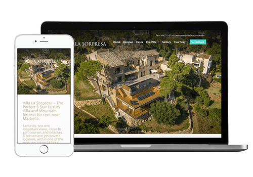 marbella website design