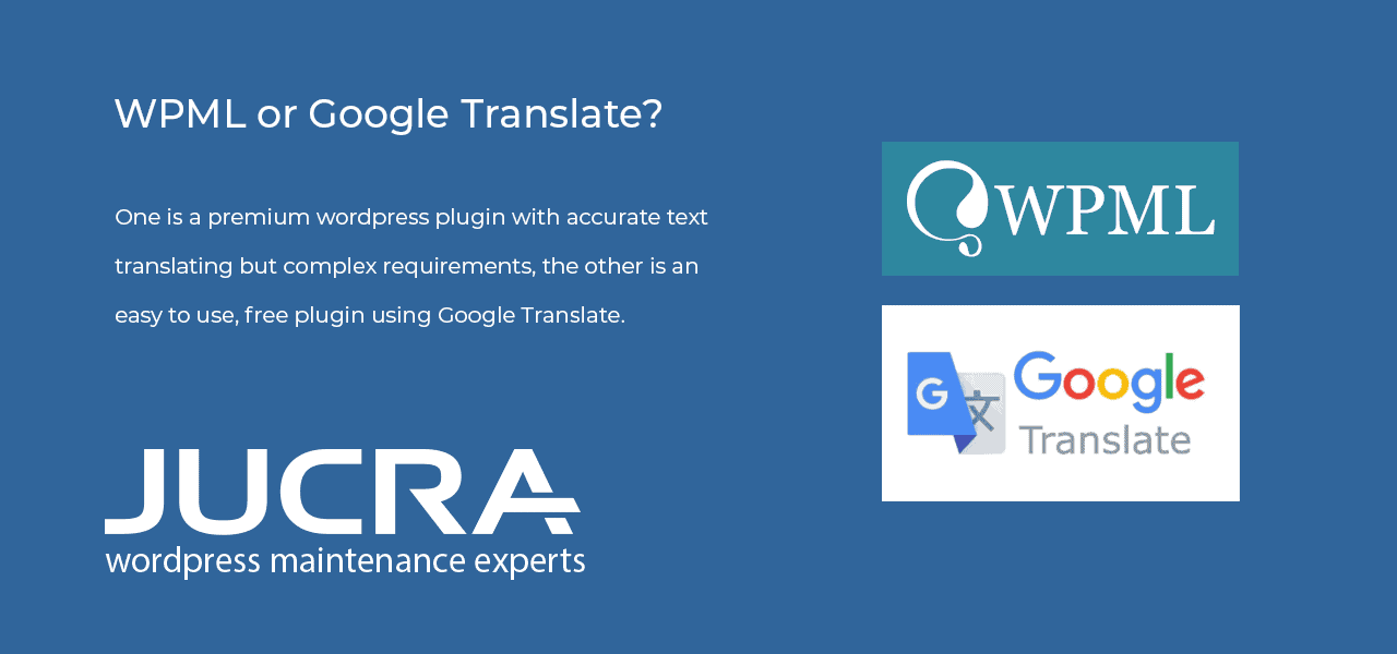 WPML or Google Translate – Pro and Cons